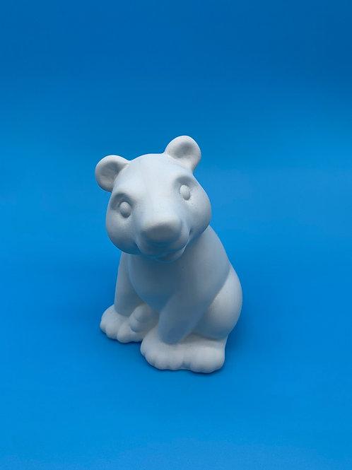 Bear Figurine Foam Clay Kit