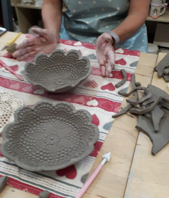 Hand Building Bowl