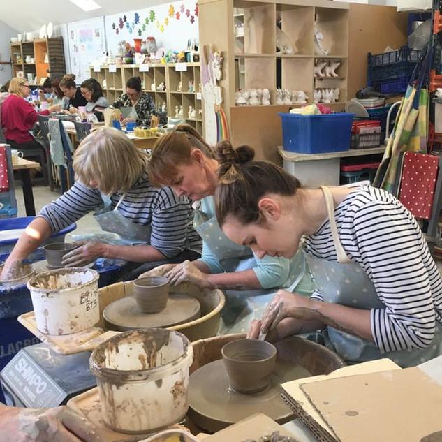 Bowl Making Potters Wheel