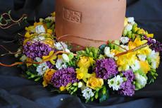 Urnenkränzli Blumenhaus Feld Samstagern