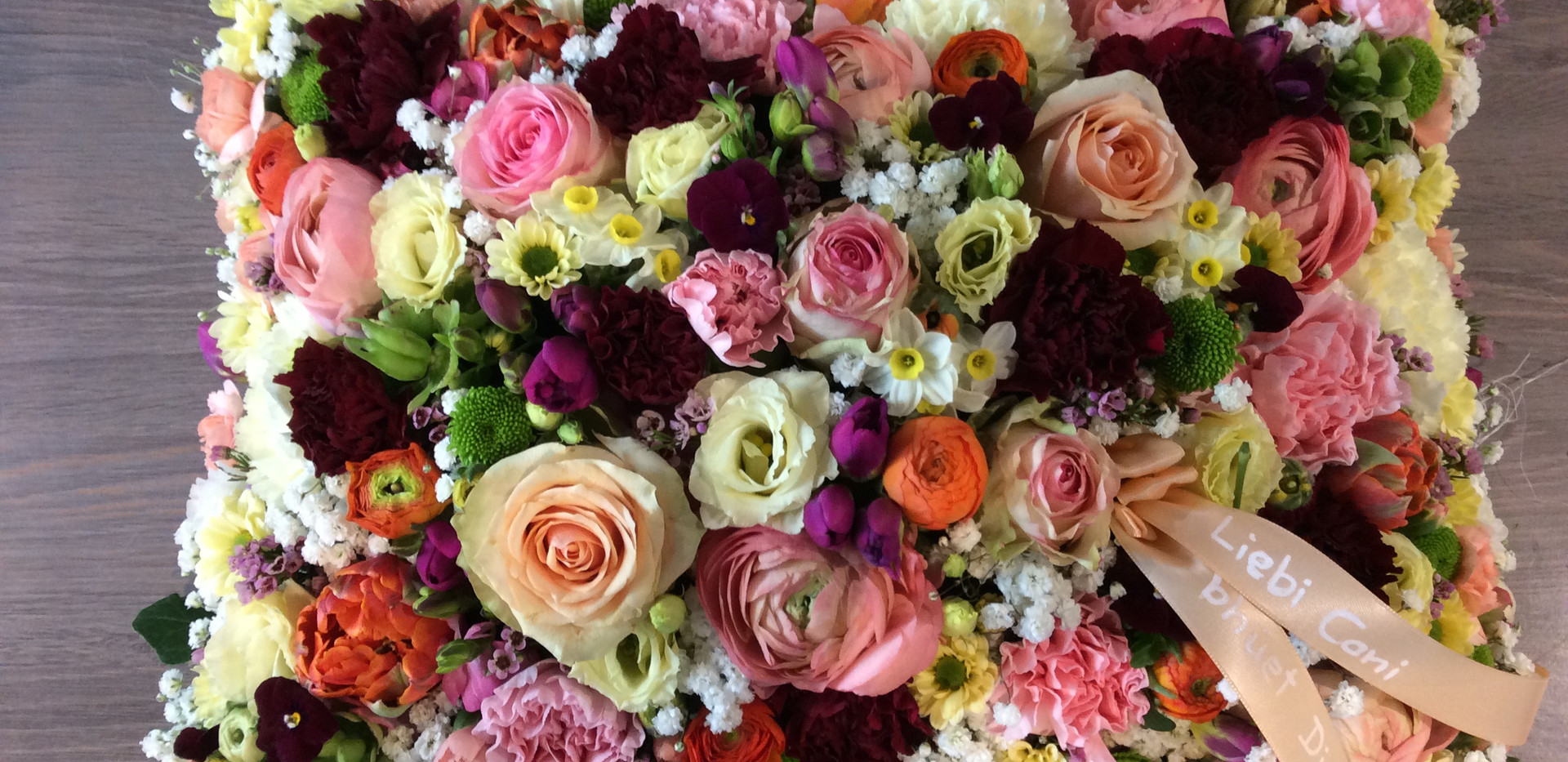 Formen aus Blumen