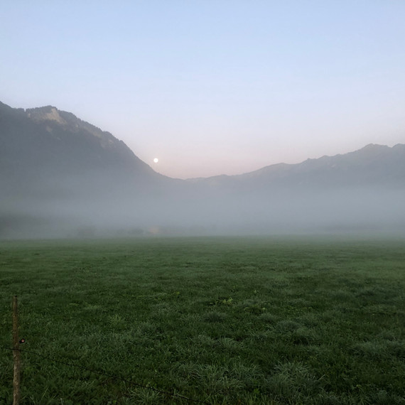 Herbstmorgen im Enge Vorsäß