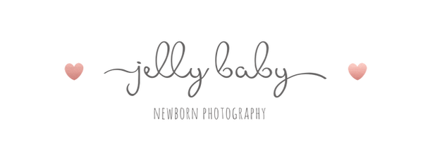 Jelly baby newborn photography bristol logo
