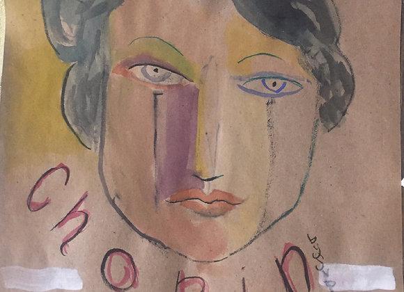 Chopin Watercolour