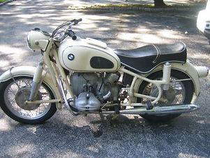 1960 BMW, Original white colour, equippe