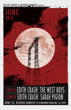 Poster Edith Crash Beatnik Bandito