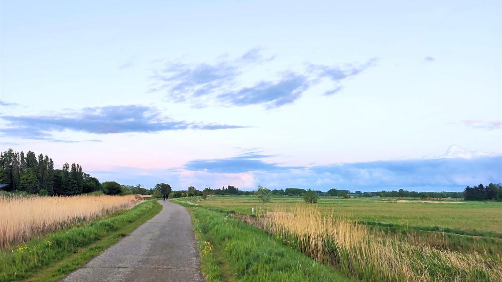 Open fields outside of Ghent