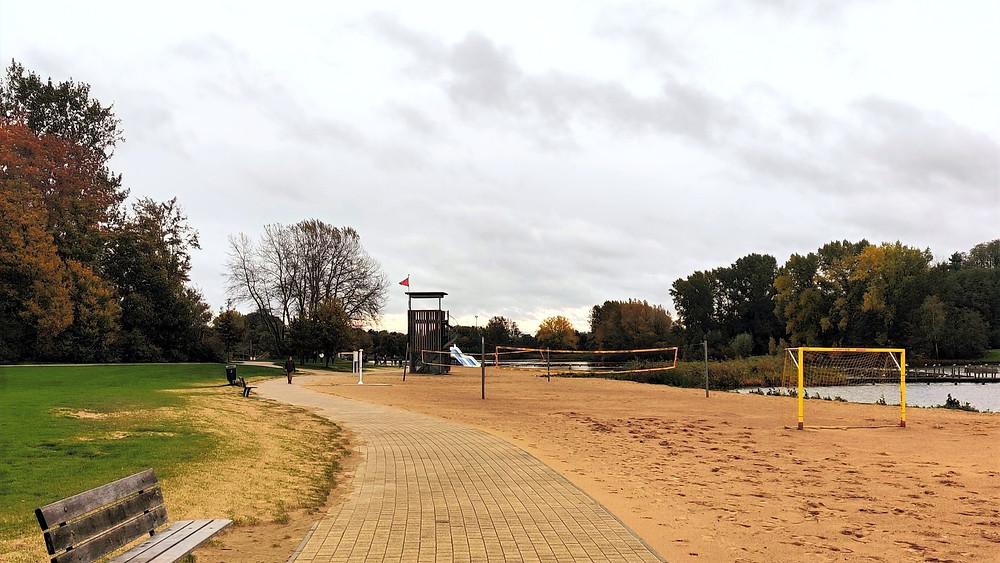 Blaarmeersen Beach Ghent Running Track