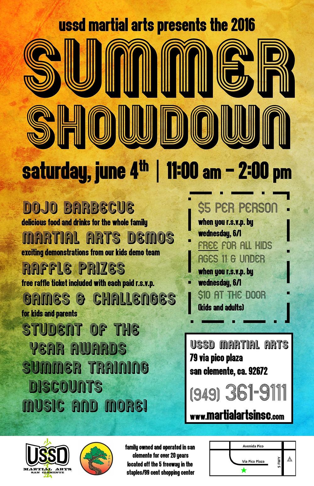 Martial Arts in San Clemente | Summer Showdown