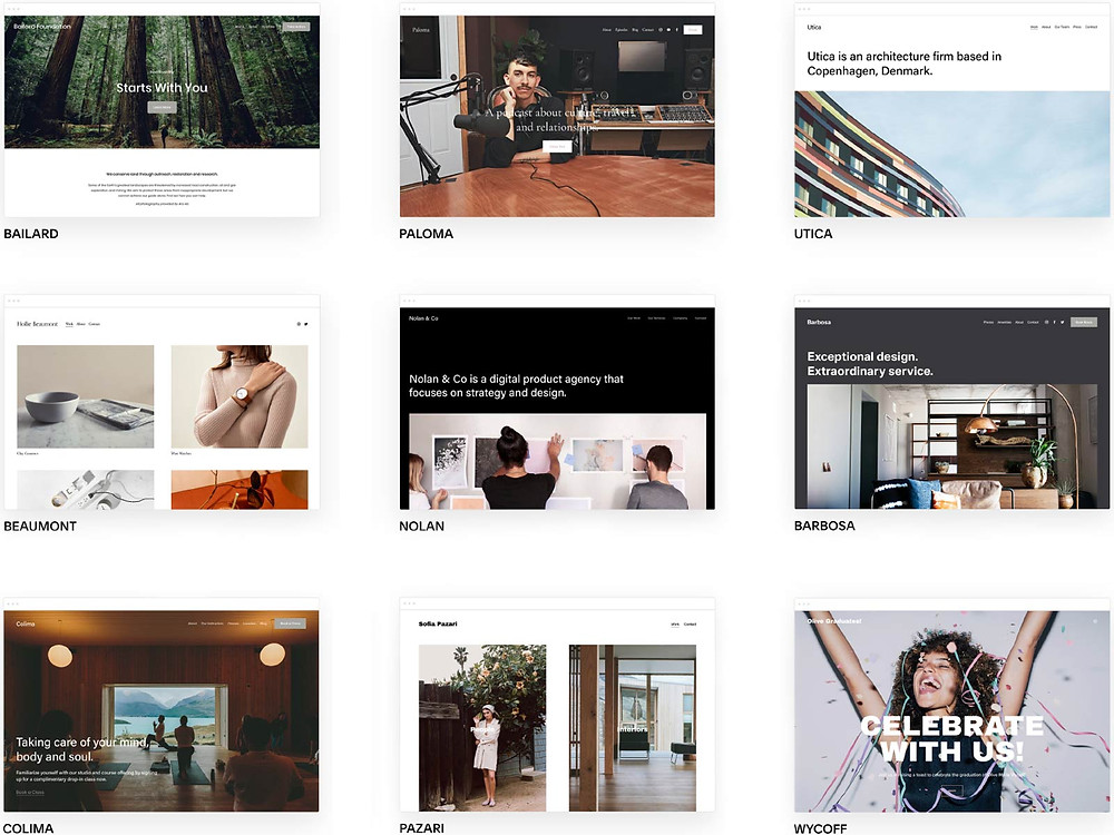 How to start and grow your blog - Squarespace platform templates