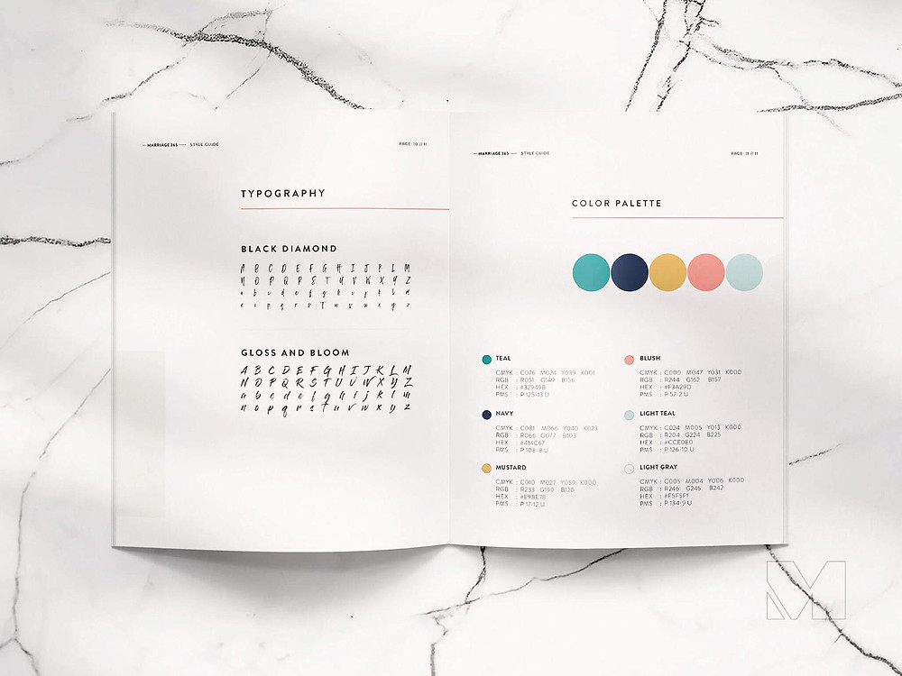 Example of Brand Guidelines by Madi Design