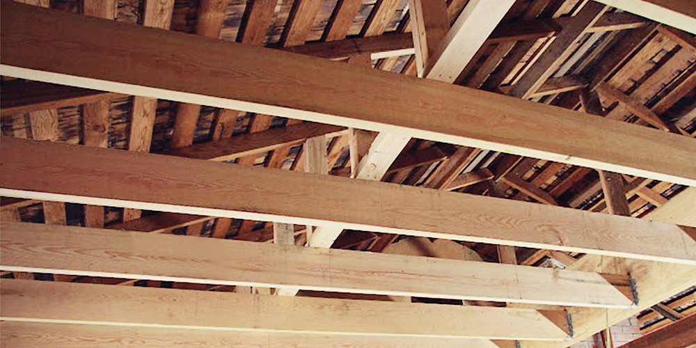 Ceiling beams / joists