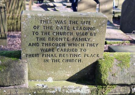 Churchyard plaque