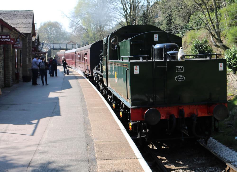 Steam loco Haworrth