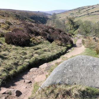 Rocky path down to Bronte falls