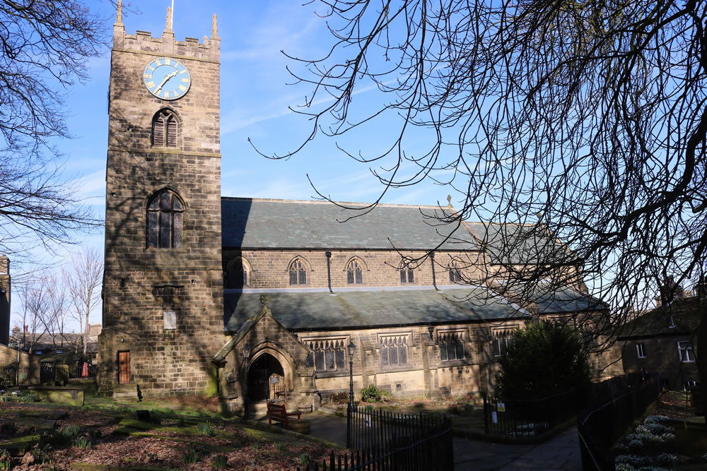 St Michael and All Angels church Haworth
