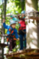 adventure climbing high wire park - peop