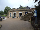 Cafe Roberts park Saltaire West Yorkshire