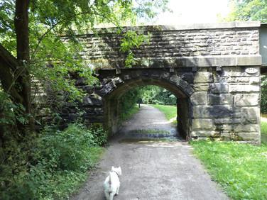 Maud Pipeline Bridge on Leeds Liverpool Canal – Bingley, UK