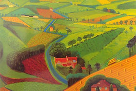 Hockney the road across the worlds 1997