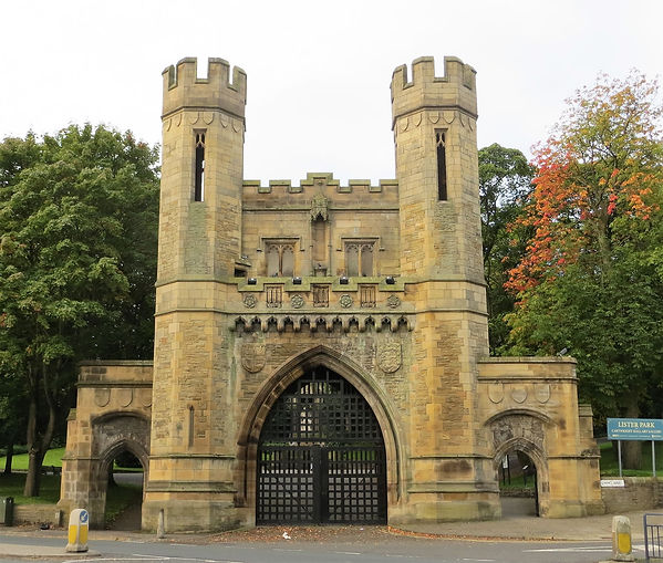 Norman Arch lister park bradford uk