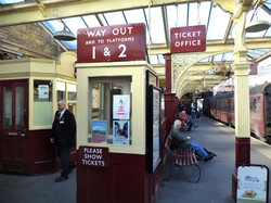 KWVR Ticket office Keighley
