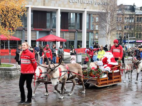 Santa Claus City Park Bradford 2019