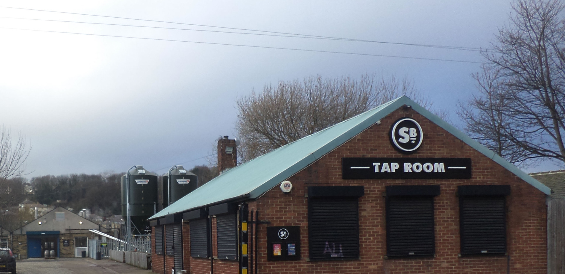 Saltaire brewery tap room