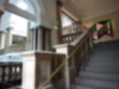Cartwright Hall grand steps