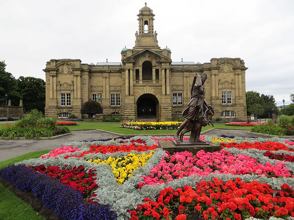 Cartwright Hall Art Gallery Bradford UK