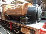 Nellie steam locomotive Bradford Industrial Museum