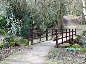 Darwin Gardens Bridge