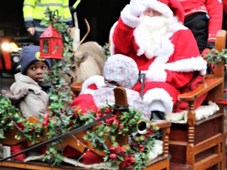 Santa arrives in Bradford this weekend for annual reindeer parade 2019