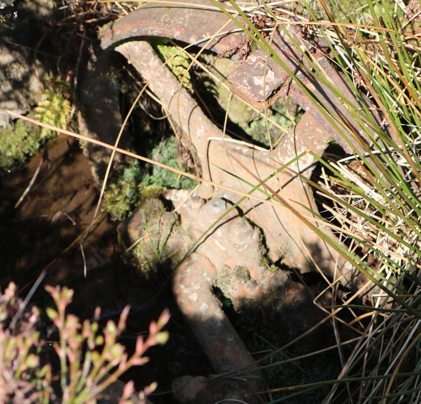Water pump wheel Haworth moor