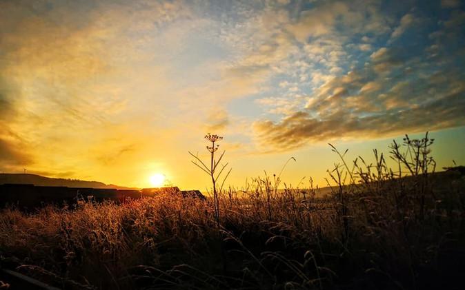 Sunrise photograph Silsden