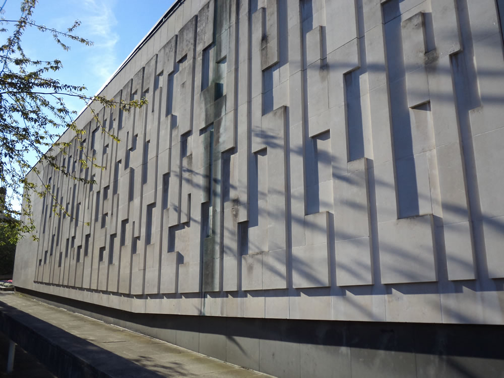 Pictureville cinema Bradford wall