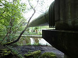 Pipe accross Canal