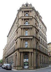 law russell building Little Germany Bradford