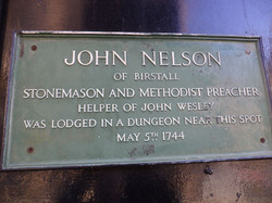 John Nelson Plaque