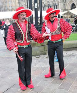 Spanish singers Christmas Fayre