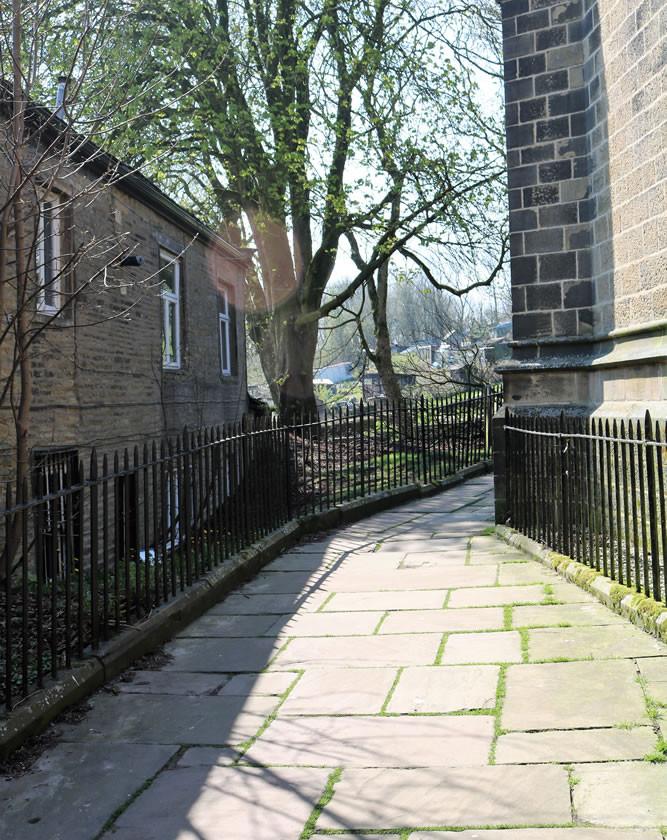 Church path Haworth