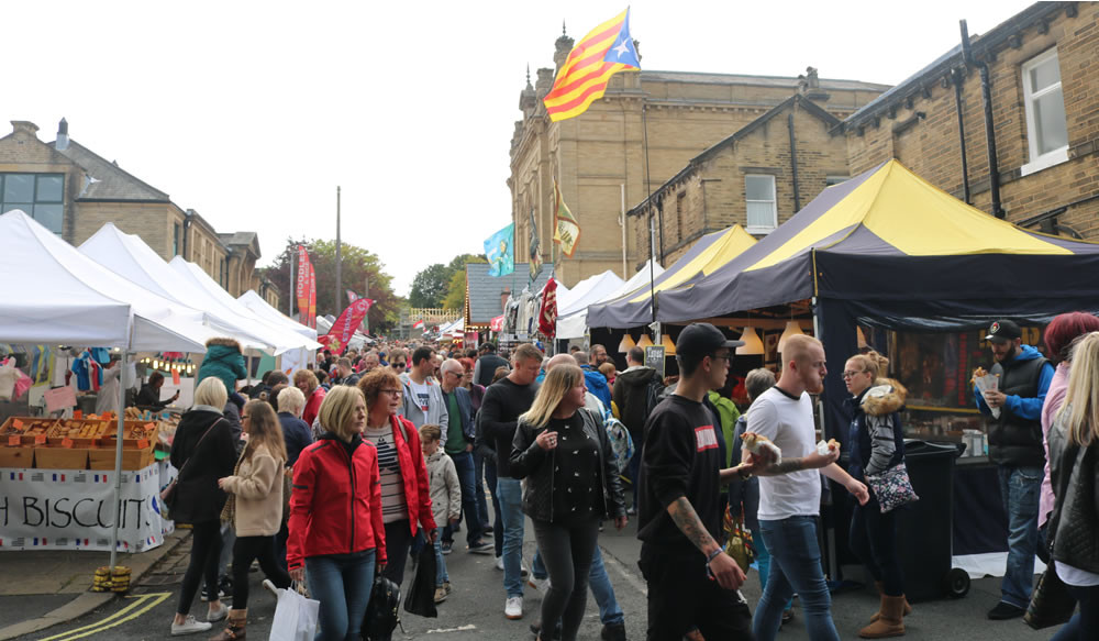 Outdoor stalls line Exhibition Road and include a wide range of food, drink, crafts and wares from around the world, as well as closer to home.
