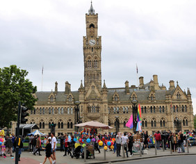 City hall bradford uk