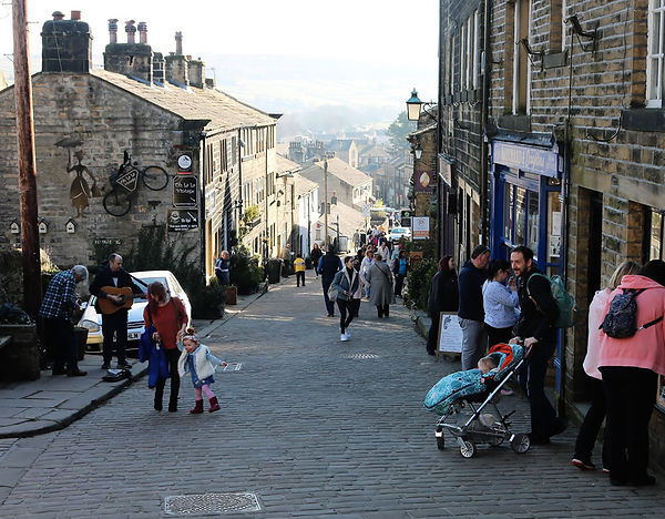 Haworth cobbled street