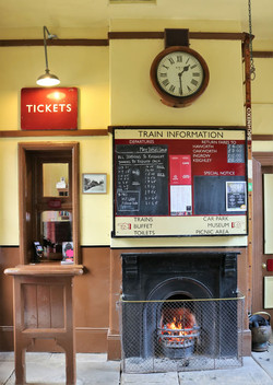 Oxenhope station ticket office