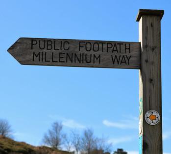 White wells millenium way sign.jpg