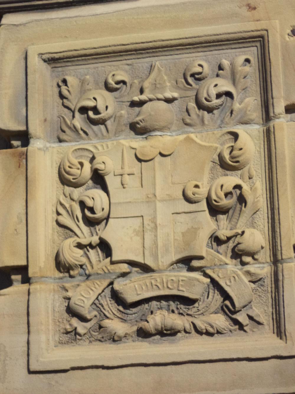 Midland railway crest Bradford