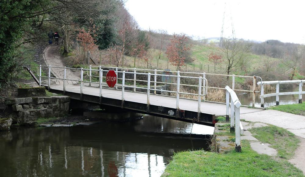 Canal bridge Buck Hill Buck Woods Bradford