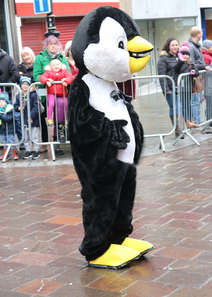 Penguin Reindeer parade Bradford 2019