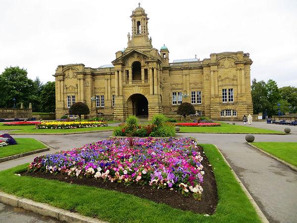 Cartwright Hall  and Lister park Bradford UK